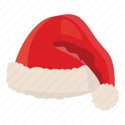 cartoon, christmas, claus, decoration, hat, santa, winter icon