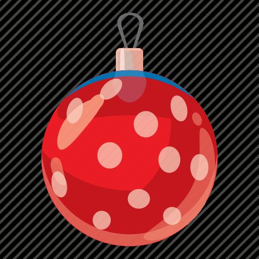 ball, cartoon, celebration, christmas, december, decoration, winter icon