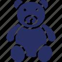 bear, soft, stuffed, teddy icon