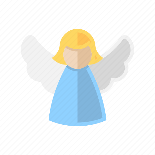 angel, christmas, decoration, xmas icon