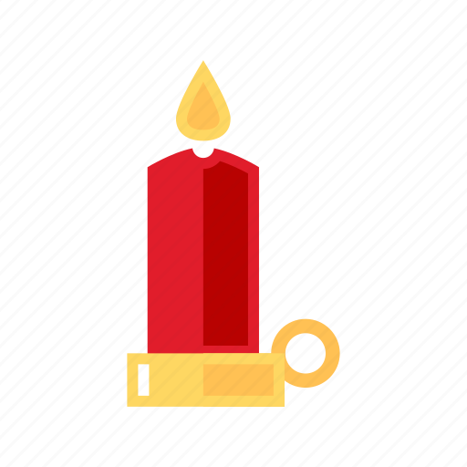 candel, christmas, decoration, light icon