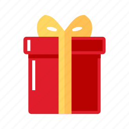 box, christmas, gift, red icon