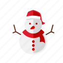 christmas, cold, snowman, xmas icon