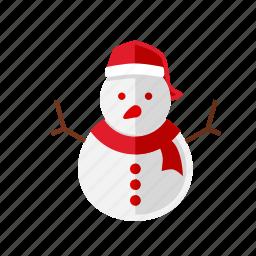 christmas, cold, snowman, xmas icon