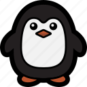 bird, penguin icon