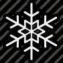 flake, snow, snow flake, snowflake icon