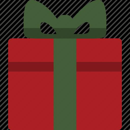 christmas, christmas present, gift, present icon