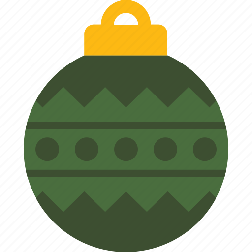 bauble, christmas, decoration, holiday, ornament, tree icon