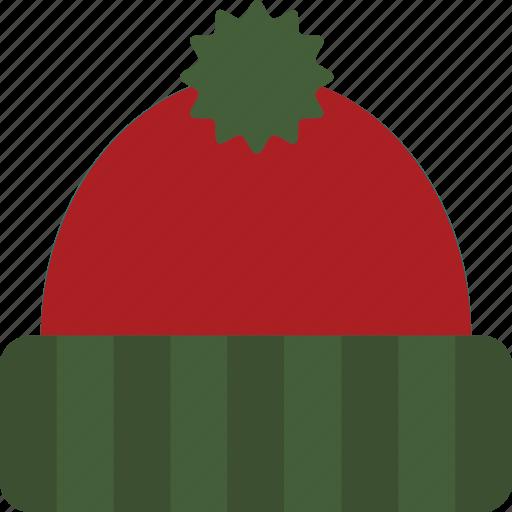 cap, hat, knit, knit hat, winter, winter cap, winter hat icon