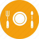 cooking, dinner, food, fork, hotel, kitchen, restaurant icon