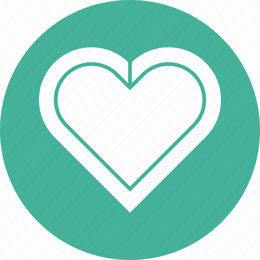bauble, decoration, heart, romantic, valentine icon