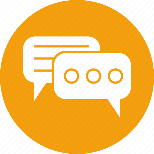 chatting, comment, conversation, dialogue, discussion, sms icon