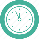 clock, hour, stopwatch, timepiece, wait, wall, watch icon