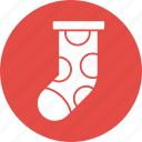 ball, decoration, holiday, ornament, ornaments, socks, winter icon