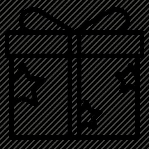 box, commerce, gift, present icon