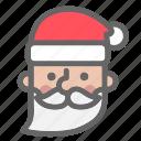 christmas, claus, color, santa, santa clause