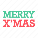 christmas, color, xmas icon