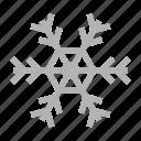ice, color, snow, christmas, snowflake