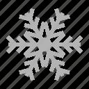 christmas, color, ice, snow, snowflake