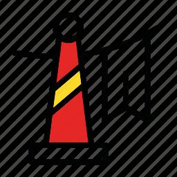 celebration, cone, decoration, new year icon