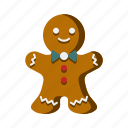 christmas, cookie, gingerbread icon