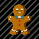 christmas, cookie, gingerbread