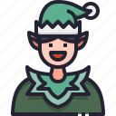 avatar, christmas, tale, fairy, fantasy, elf icon