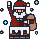 user, christmas, santa, avatar, claus icon