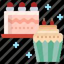 food, cup, sweet, dessert, christmas, cake