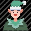 fantasy, tale, fairy, avatar, elf, christmas