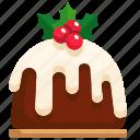 dessert, cake, sweet, christmas, food