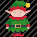 character, fantasy, tale, fairy, christmas, elf, avatar