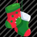 holiday, xmas, gift, christmas, sock
