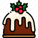 cake, christmas, food, dessert, sweet