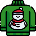 snowman, fashion, clothes, christmas, sweater, pullover