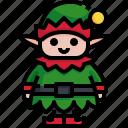 character, elf, fantasy, avatar, tale, christmas, fairy