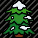 forest, joshua, tree, snow, pine, christmas icon