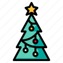 christmas, cristmas, forest, nature, tree, woods icon
