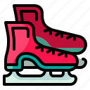 ice, leisure, skate, sport, winter icon