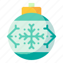 bauble, christmas, decoration, ornament icon