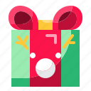 christmas, gift, present, surprise icon