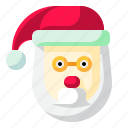 christmas, claus, father, santa, user