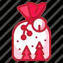 bag, christmas, gift, present, surprise icon