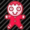 bakery, cookie, food, gingerbread, sweet icon