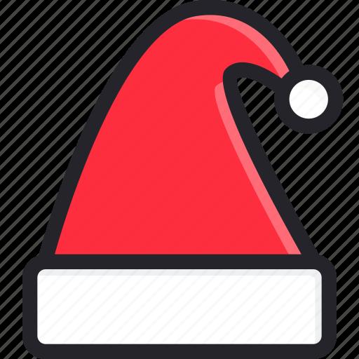christmas, gift, hat, holiday, ornament, santa claus, seasonal icon