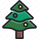 celebration, christmas, decoration, holiday, ornament, seasonal, tree icon