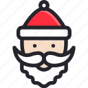 happy, santa claus, winter, holiday, merry, christmas, gift
