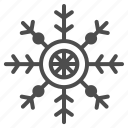 christmas, decoration, snowflake, winter, xmas icon