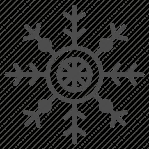 christmas, decoration, snowflake, winter, xmas icon