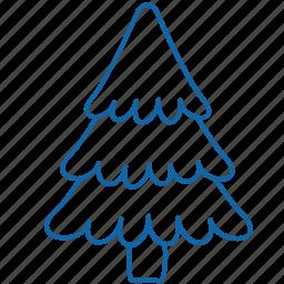 christmas, christmas tree, holyday, new year, tree icon